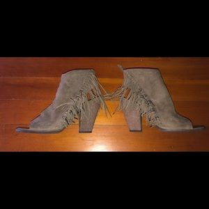 Dolce Vita Open Toe with Fringe Accents